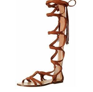 Sigerson Morrison Boni Suede Gladiator Sandal 9.5